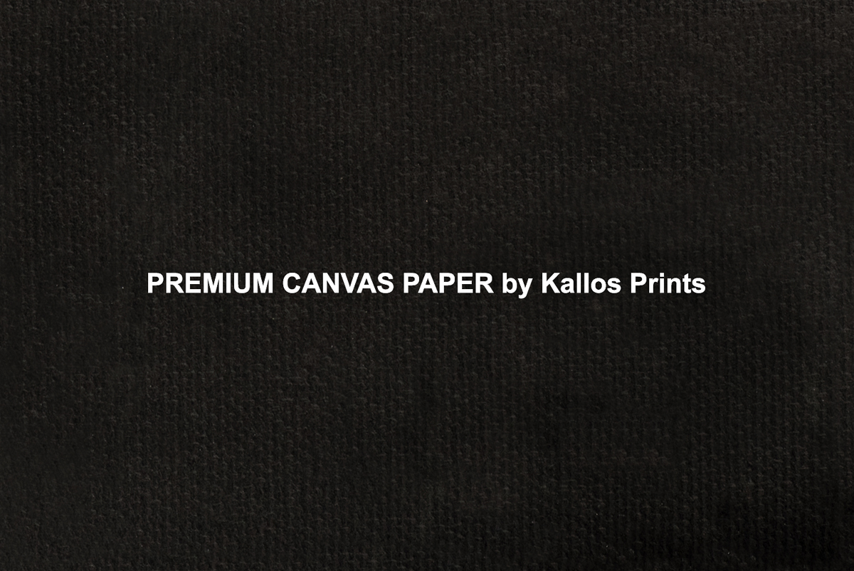 graphic regarding Printable Canvas Paper called Quality Canvas Paper Image Printing Paper upon Black by means of Kallos