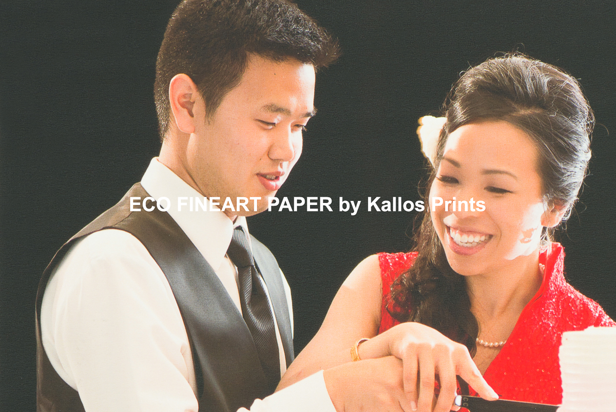 eco fine art photo paper, photo cake cutting by calgary wedding photographers, taeho style, kallos photography, hawaiii weddings