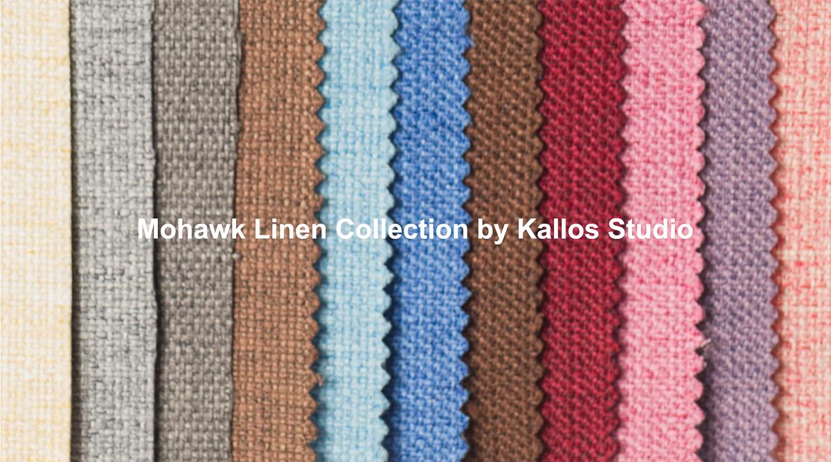Flush Mount Album Cover Mohawk Linen by Kallos Studio Albums and Prints