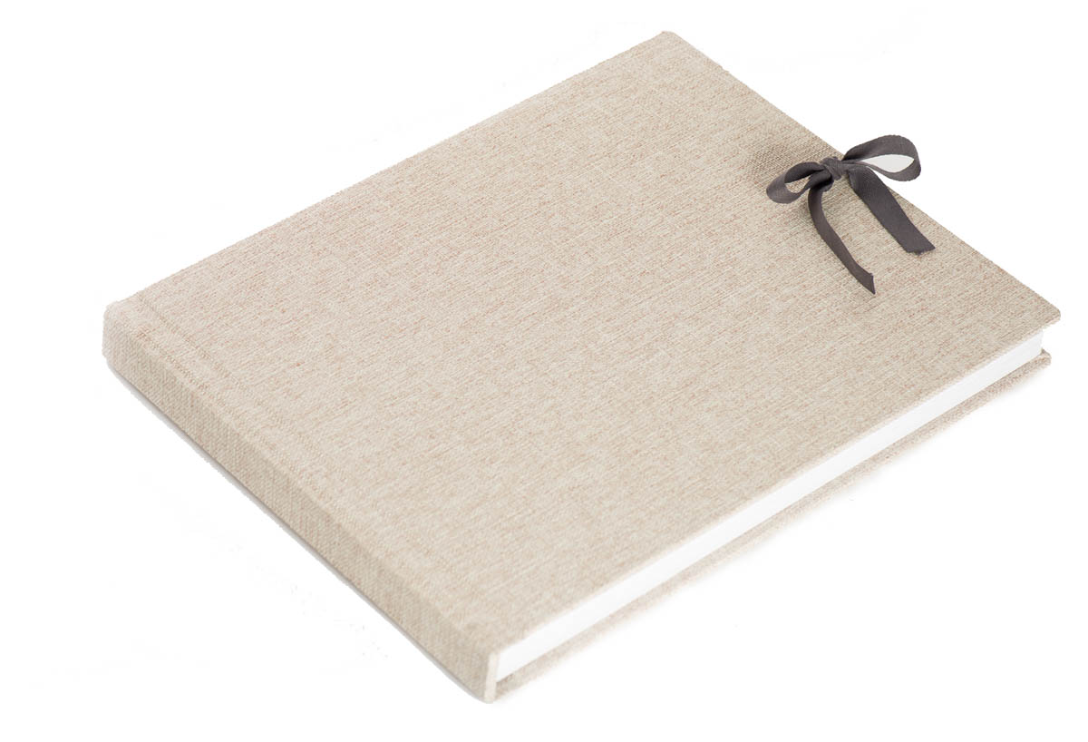 mohawk linen flush mount albums with a ribbon is a great choice