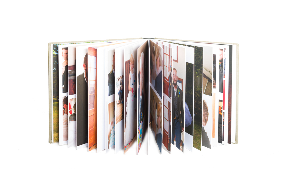 Ridged Pages for best flush mount albums
